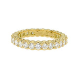 """Pinpoint"" Diamond Eternity Band (~1.5 ct tw)"