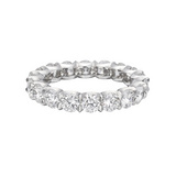 Round Brilliant Diamond Eternity Band (~4 ct tw)
