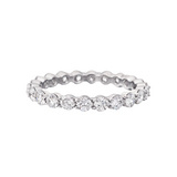 Round Brilliant Diamond Eternity Band (~1.5 ct tw)