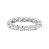 Round Brilliant Diamond Eternity Band (~3 ct tw)