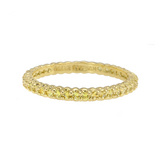 &quot;Pinpoint&quot; Yellow Sapphire Eternity Band