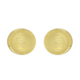 &quot;Linea&quot; 18k Gold Cushion-Shaped Earclips