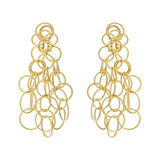 &quot;Hawaii&quot; 18k Gold Drop Earrings