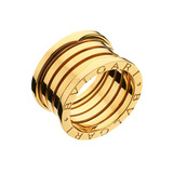 B.Zero1 18k Gold 5-Band Ring
