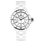 J12 Small Quartz White Ceramic (H0968)