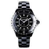 J12 Small Quartz Black Ceramic (H1625)
