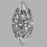 1.63 Carat Marquise Diamond (E/IF)
