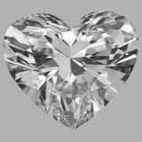1.14 Carat Heart Diamond (D/IF)