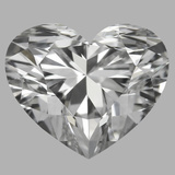 0.90 Carat Heart Diamond (E/VS2)