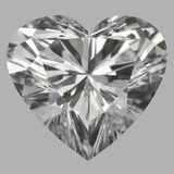 1.02 Carat Heart Diamond (E/SI2)