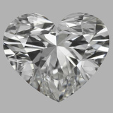1.01 Carat Heart Diamond (F/VS2)