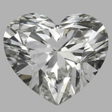 1.02 Carat Heart Diamond (J/VS2)