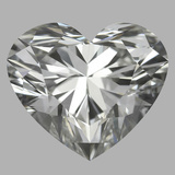 1.24 Carat Heart Diamond (H/VVS2)