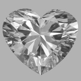 1.01 Carat Heart Diamond (F/VS1)