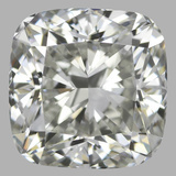 0.90 Carat Cushion Brilliant Diamond (H/VS1)