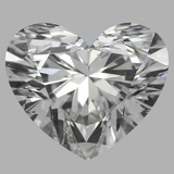 1.00 Carat Heart Diamond (F/SI1)