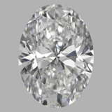 1.08 Carat Oval Diamond (D/VVS2)