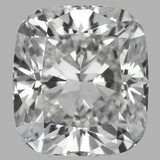 0.81 Carat Cushion Brilliant Diamond (E/VVS1)