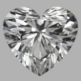4.37 Carat Heart Diamond (G/SI1)