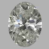 1.01 Carat Oval Diamond (I/SI2)