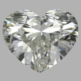 1.20 Carat Heart Diamond (I/IF)