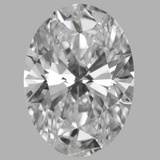 1.01 Carat Oval Diamond (D/VVS1)