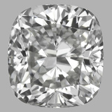 0.76 Carat Cushion Brilliant Diamond (G/VVS2)