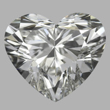 1.01 Carat Heart Diamond (H/VVS1)