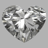 1.01 Carat Heart Diamond (G/SI1)