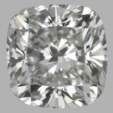 0.80 Carat Cushion Brilliant Diamond (I/VVS2)