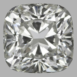 0.80 Carat Cushion Brilliant Diamond (I/VVS1)