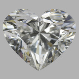 1.05 Carat Heart Diamond (G/VVS1)