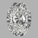 1.07 Carat Oval Diamond (F/VVS2)