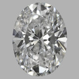 1.01 Carat Oval Diamond (D/VS2)