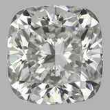 0.91 Carat Cushion Brilliant Diamond (H/VVS1)