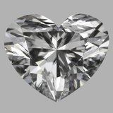 1.12 Carat Heart Diamond (D/VVS2)