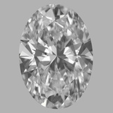 1.50 Carat Oval Diamond (D/IF)