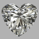 0.91 Carat Heart Diamond (I/VS2)