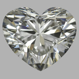 1.21 Carat Heart Diamond (I/VVS1)