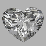 1.06 Carat Heart Diamond (D/SI1)