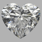 0.92 Carat Heart Diamond (D/VS2)