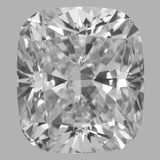 0.81 Carat Cushion Brilliant Diamond (E/VS2)