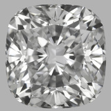 0.75 Carat Cushion Brilliant Diamond (E/VVS2)