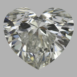 0.77 Carat Heart Diamond (H/VS1)
