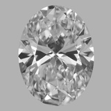 1.02 Carat Oval Diamond (F/IF)