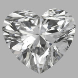 1.10 Carat Heart Diamond (F/VS2)