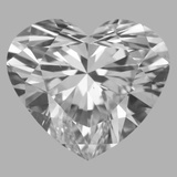 3.01 Carat Heart Diamond (D/VS2)