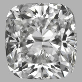 0.90 Carat Cushion Brilliant Diamond (E/VVS2)