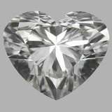 1.04 Carat Heart Diamond (H/VVS2)