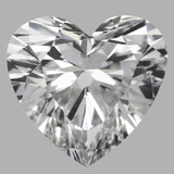 1.01 Carat Heart Diamond (D/IF)